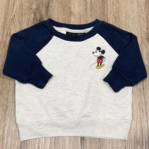 Baby Disney Mickey Mouse Crew Neck Sweater